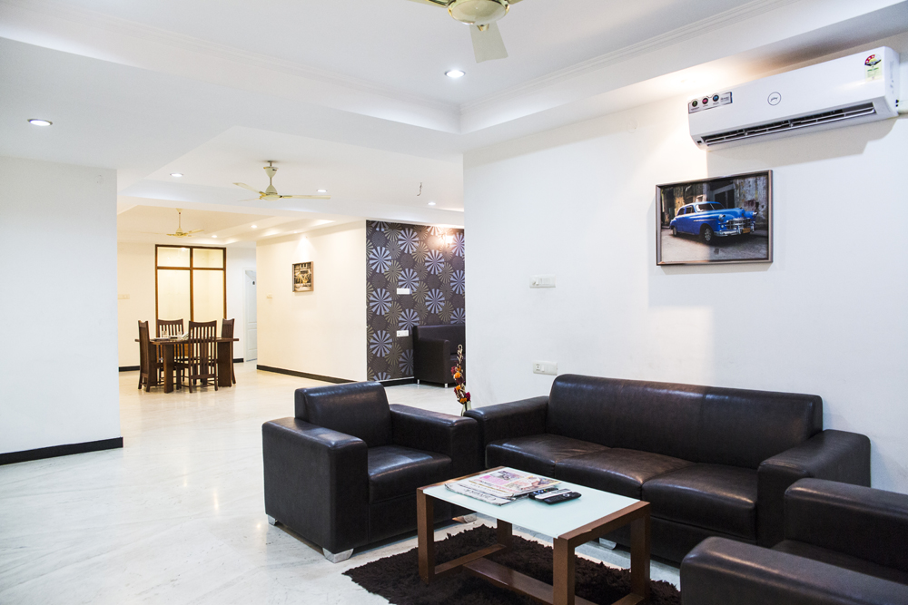 3 Bhk Serviced Apartments At Banjara Hills Road No 13 Opp Karachi Bakery 8000